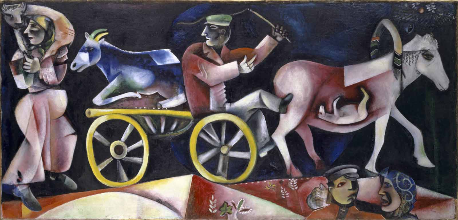 Marc Chagall; Le marchand de bestiaux; 1912
