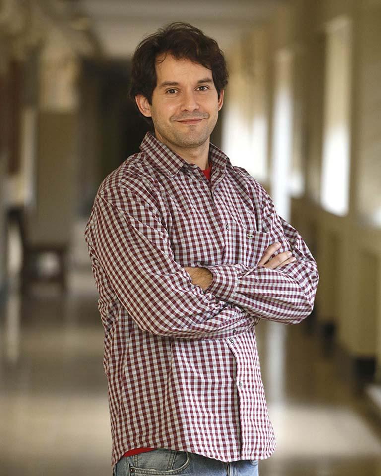 Andrés Guerrero, químico de la UCM.Foto: Kike Para.