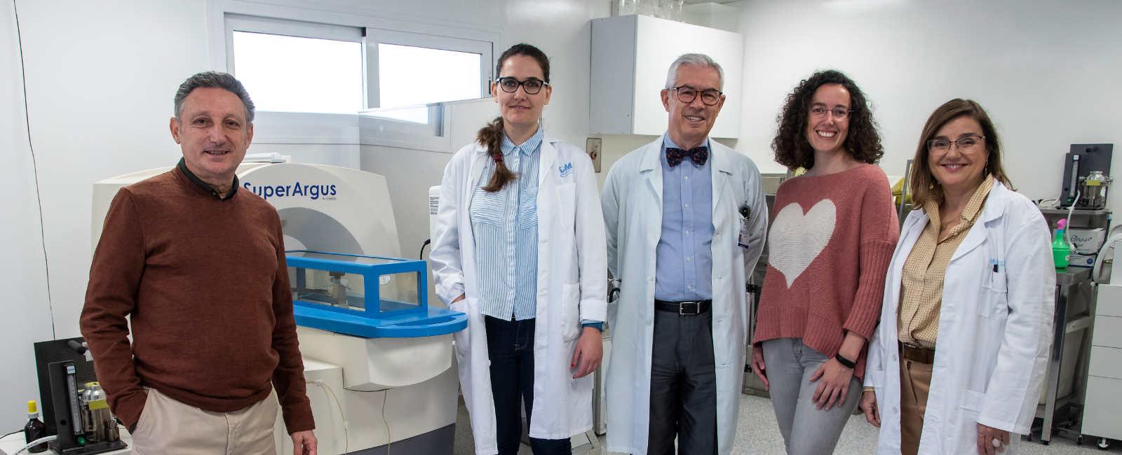 MANUEL DESCO, BEATRIZ SALINAS, EMILIO BOUZA, LORENA CUSSO Y PATRICIA MUÑOZ
