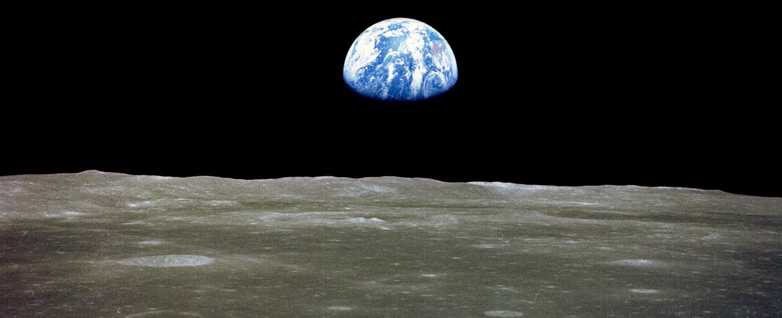 LUNA DESDE LA TIERRA APOLO 11 NASA