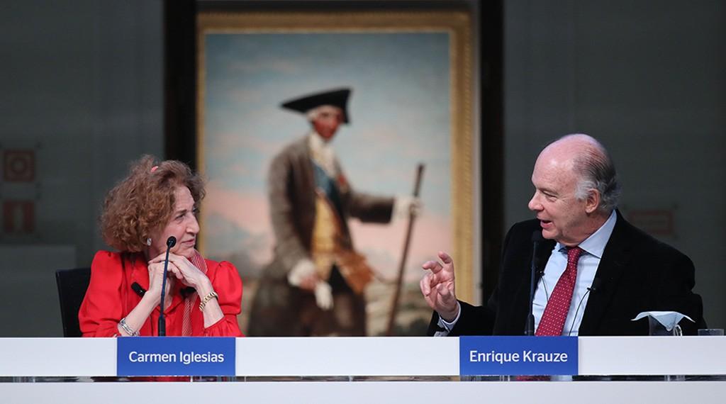 Ciclo Historia de las Ideas. De la Ilustración al Romanticismo. Diálogo Carmen Iglesias y Enrique Krauze. 1024×570
